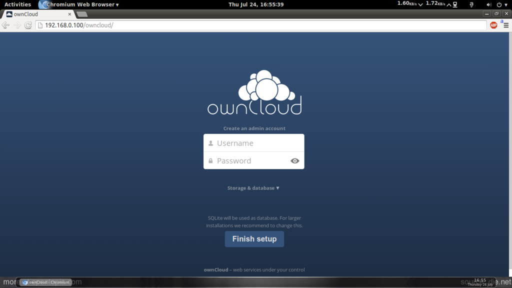 Enabling HTTPS access to OwnCloud